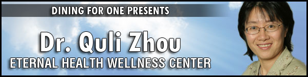 Dr. Quli Zhou of the Eternal Health and Wellness Acuputure Center